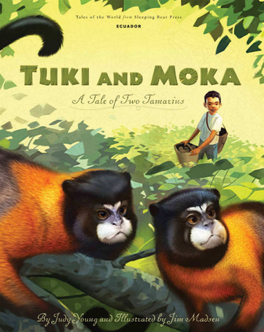 Tuki and Moka - Ecuador Children's Book
