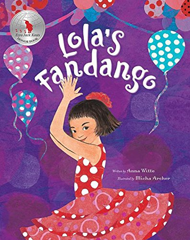 Lola's Fandango Book from Spain
