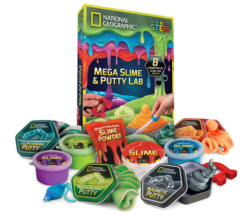 Nat Geo Mega SLime Kids SLime Toy
