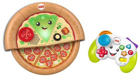 Fisher-Price Laugh & Learn Game and Pizza Party Gift Set