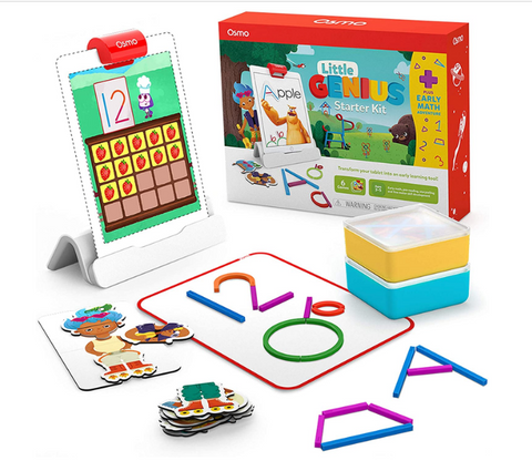 Osmo - Little Genius Starter Kit for iPad + Early Math Adventure