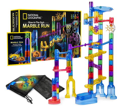Nat Geo Glow in the Dark Marble Run