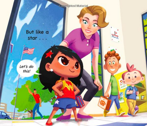Be a star WOnder woman for little Latinas
