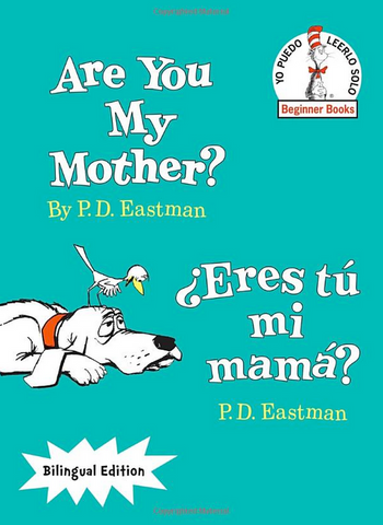 ARe you my mother ERes mi mama Book