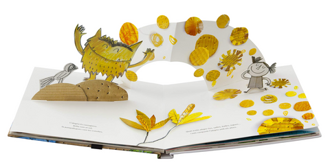 The Color Monster a Pop Up Book of Feelings
