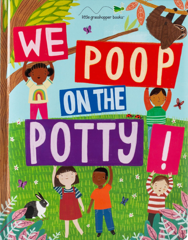 We poop on the potty potty training book