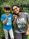 Mi LegaSi I Can Save My World Earth Day Adult T-Shirt