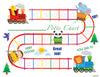 Animal Train English Potty Training Chart Download - Mi LegaSi