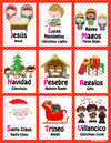 Mi LegaSi Christmas Navidad Bilingual ABC Flashcards Download - Mi LegaSi