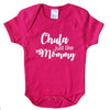 Mi LegaSi Chula Just Like Mommy Baby Onesie Magenta and White - Mi LegaSi
