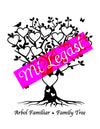 Mi LegaSi Family Tree Clipart Download Black - Arbol Familiar