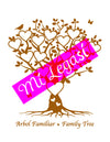 Mi LegaSi Family Tree Clipart Download Brown - Arbol Familiar - Mi LegaSi