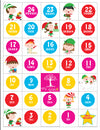 Mi LegaSi Christmas Tree Navidad Advent Countdown in Spanish Download - Mi LegaSi
