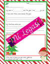 Mi LegaSi Letter to Santa Clipart Download - Carta a papa Noel
