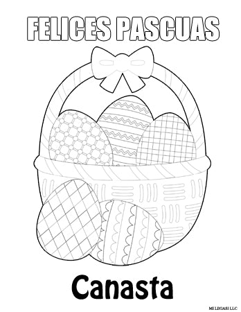 Spanish Alphabet Coloring Pages - Mr Printables | 450x348