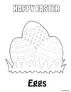 Free - Easter Coloring Pages Download - Mi LegaSi