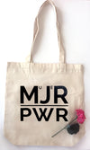 Mujer Power - Heavy Duty Natural Canvas Tote Bag