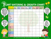 Mi LegaSi Bilingual Plant Watering and Growth Chart for Download
