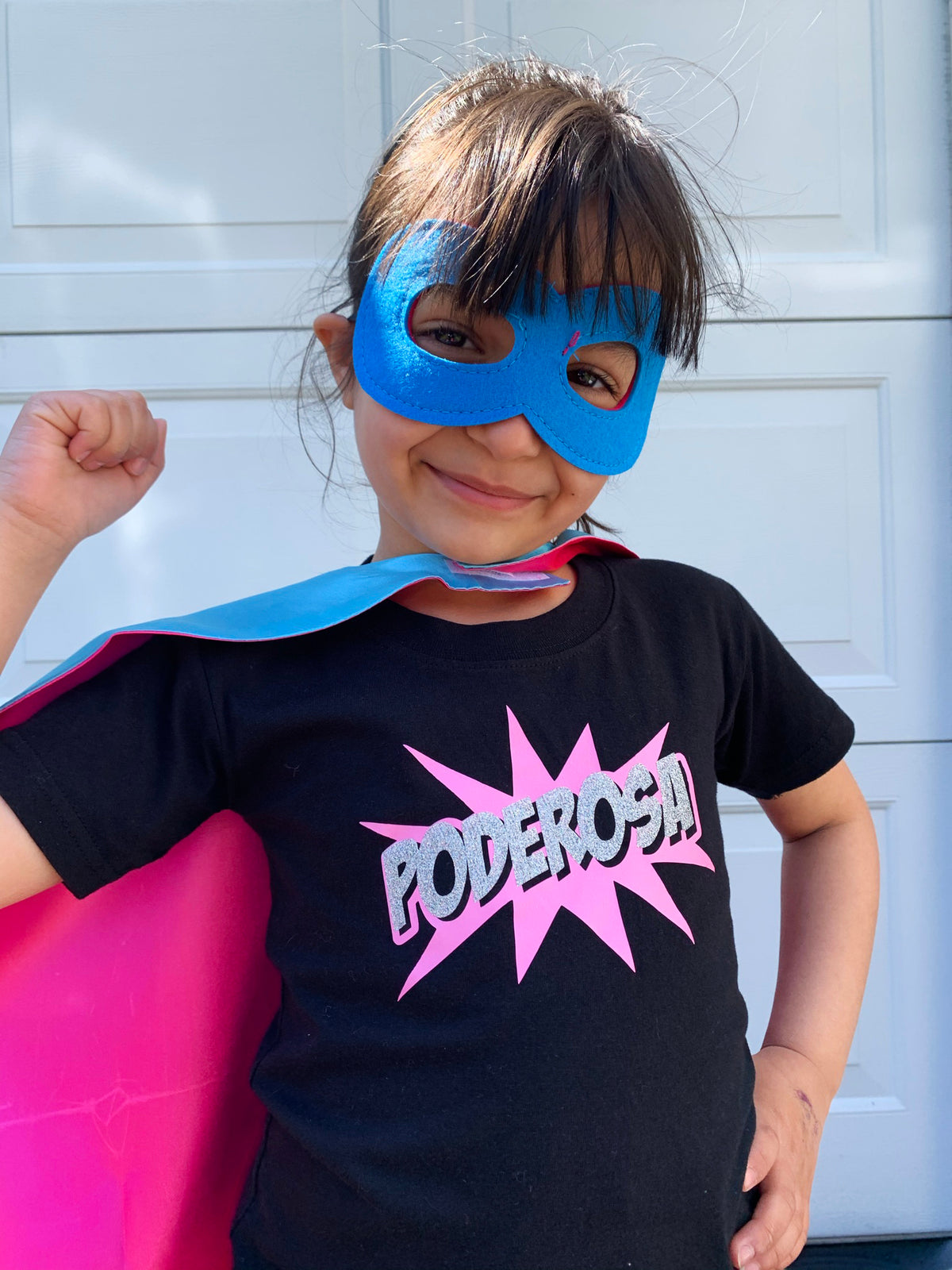 Poderosa Toddler and Child T-Shirt Spanish Latina T-shirt