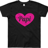 Mi LegaSi Heart Papi Heart Daddy Child T-Shirt - Mi LegaSi