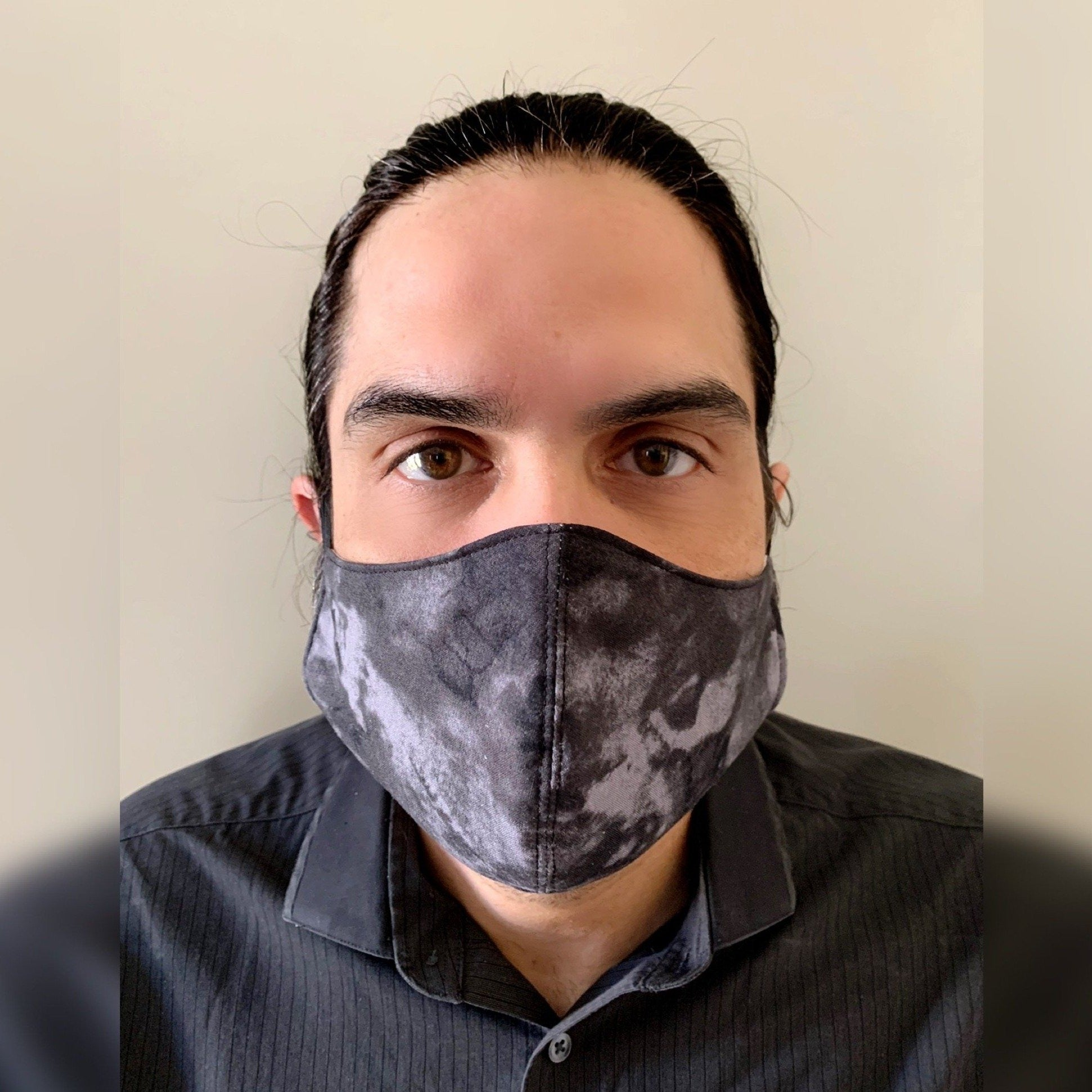Men's Face Mask 100% Cotton with Lining Rewash and Reuse - Mi LegaSi