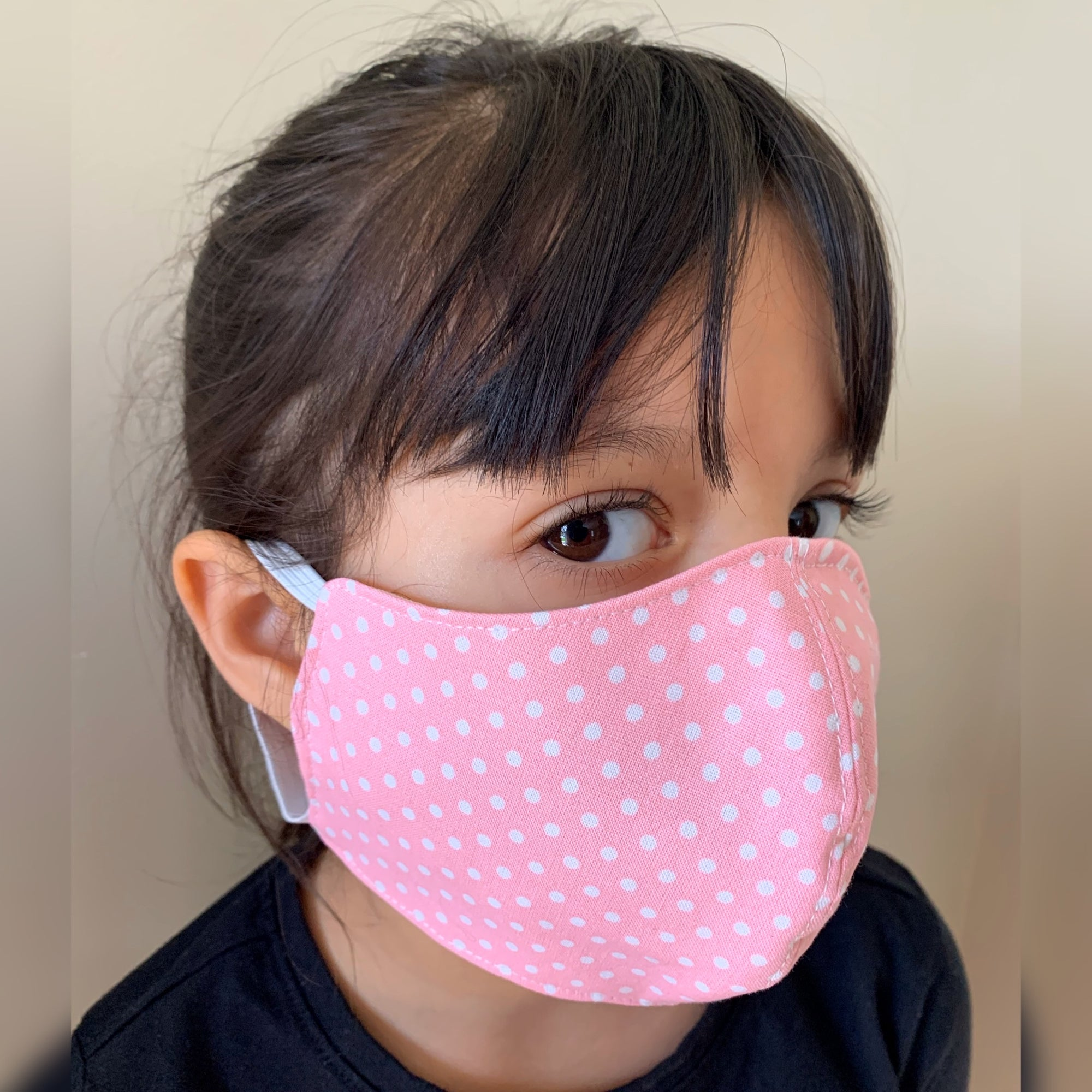 Child Print Face Mask 100% Cotton with Lining Rewash and Reuse - Mi LegaSi