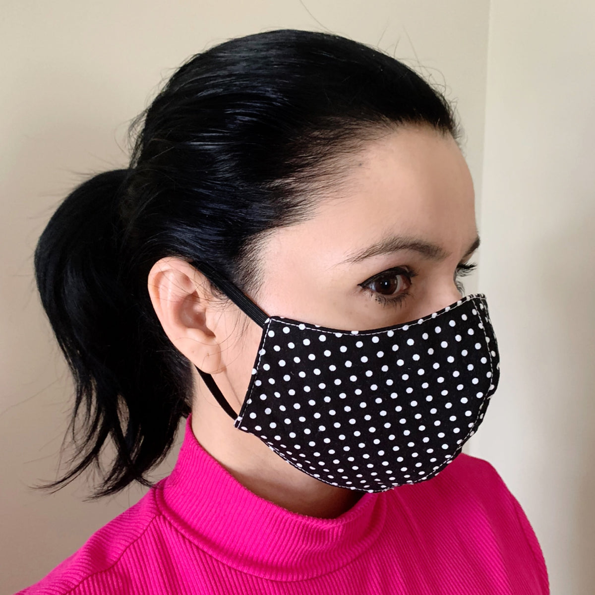 Women's/Teen Print Face Mask 100% Cotton with Lining Rewash and Reuse - Mi LegaSi