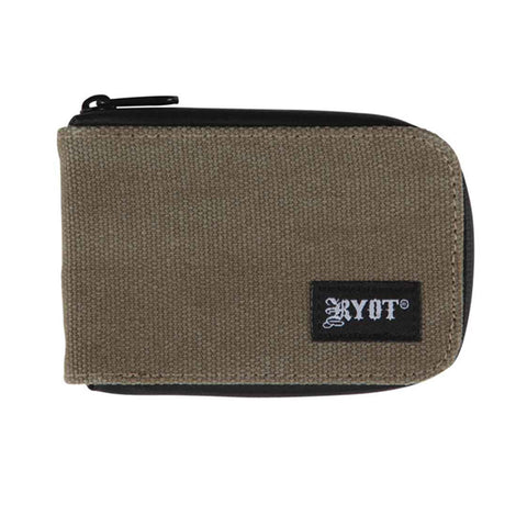 RYOT SmellSafe Wallet Olive with NoGoo