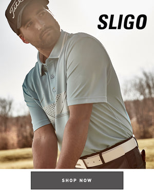 BODI POLO GOLF 100 WHITEBRASH BRASH,BODI POLO,TOPS,POLO,444 AQUARIUS BLUE,L, man playing golf, sligo golf
