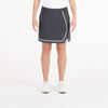NIVO GOLF  040 CHARCOAL 16 PINK ART PRIMA SKORT, BOTTOMS, SKORTS, WOVEN, 040 CHARCOAL, 16