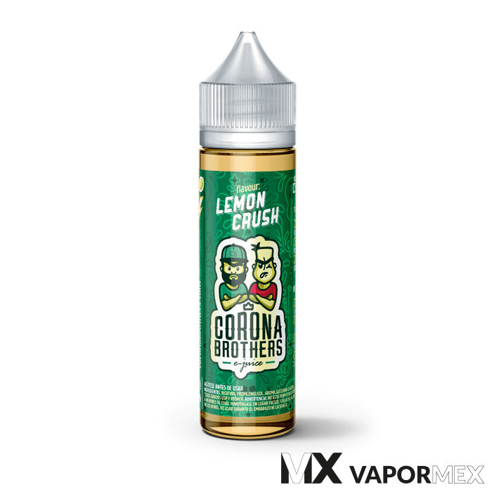 60ml - Lemon Crush - Corona Brothers