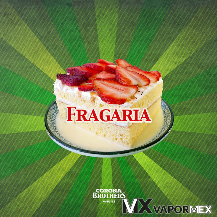 60ml - Fragaria - Corona Brothers