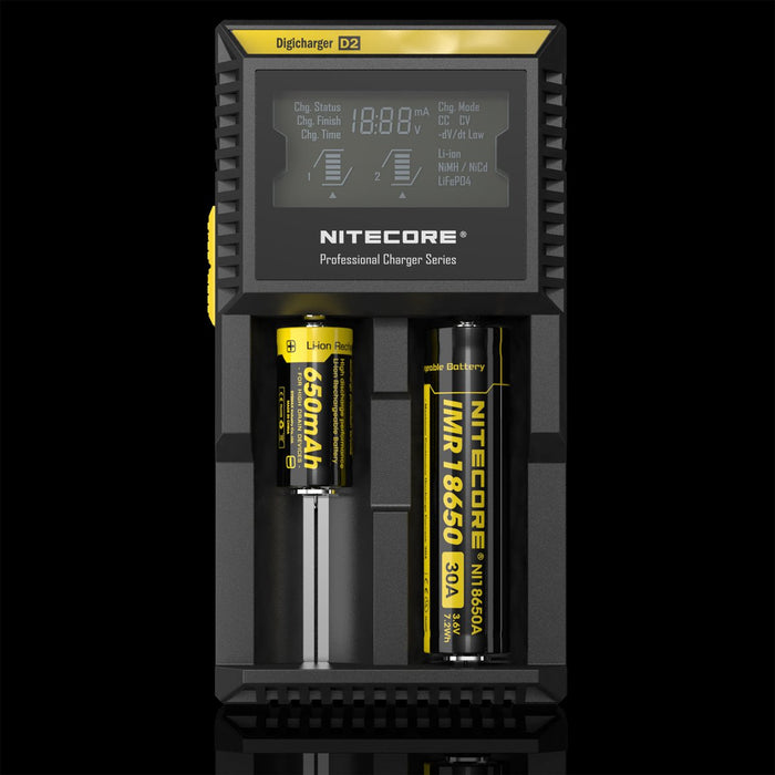 Nitecore D2 2 Channel Battery Charger