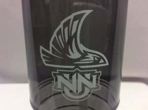 Water Bottle Tritan Clear Black Neil