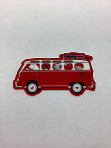 STICKER Critter Bus