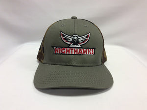 Camo Mesh Nighthawks Alternate Logo