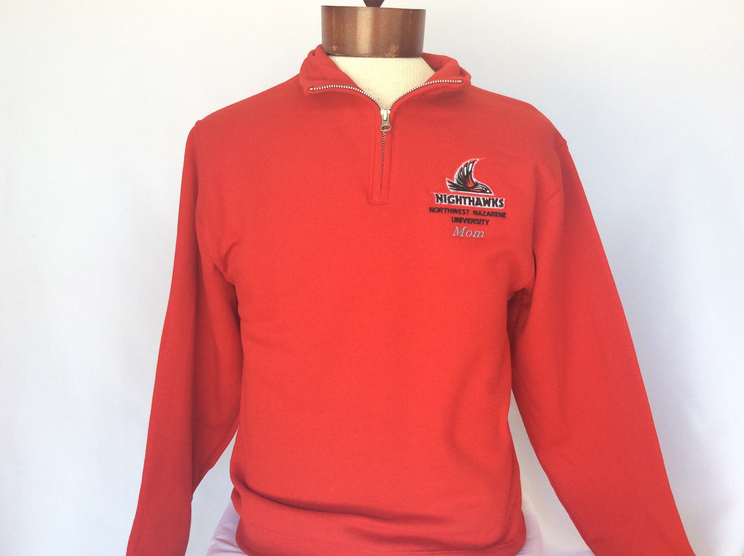1/4 Zip Mom Nighthawks