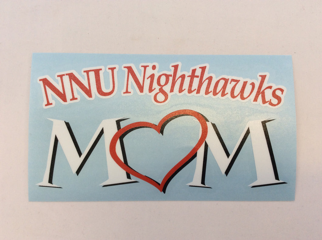 Decal Nighthawks Heart Mom