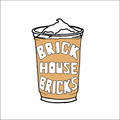 Brick Coffee Sticker