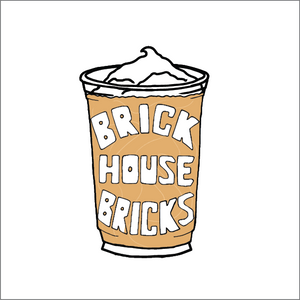 Sticker Brick Coffee