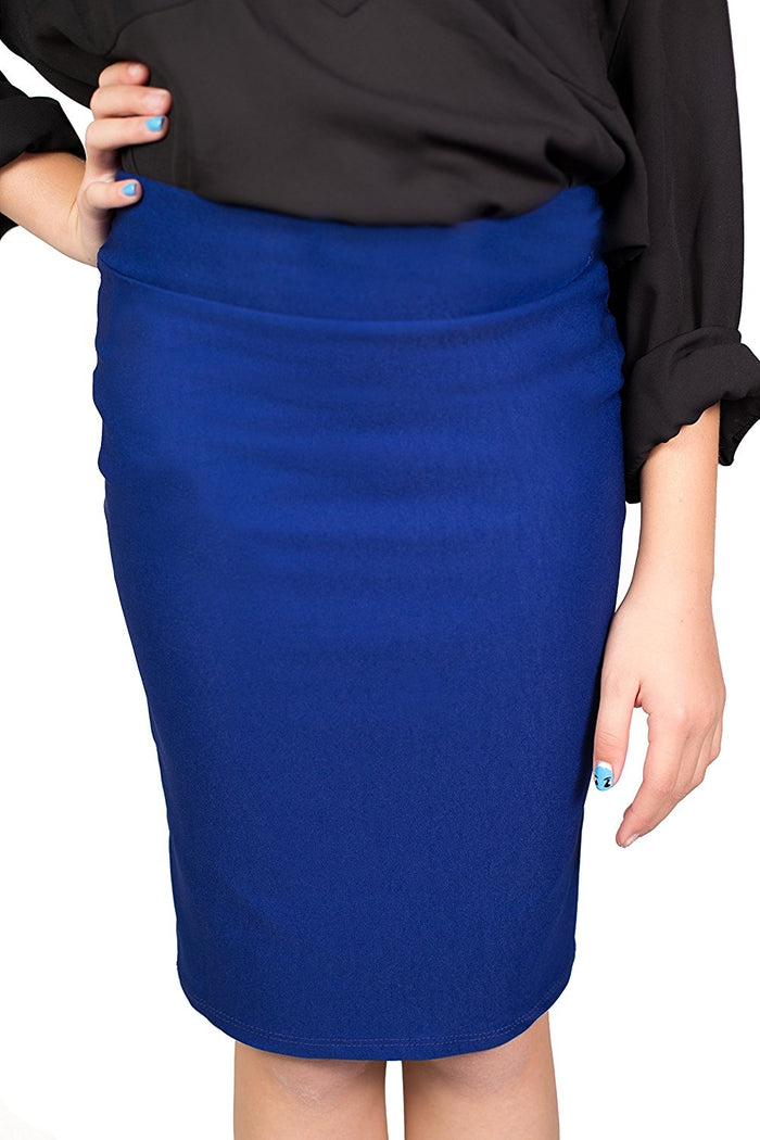 Royal Caldore Girls 7-16 Pencil Skirt