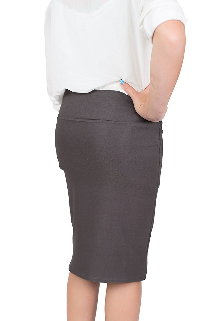 Grey Caldore Girls 7-16 Pencil Skirt