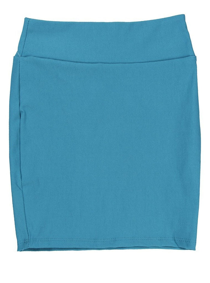 Denim Caldore Girls 7-16 Pencil Skirt