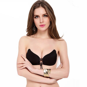 Stickiebra Stickeebra Stickybra Silicone Adhesive Backless Strapless Bra