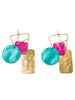 LHD X AURELIE BIDERMANN BIRD GARDEN EARRINGS - GREEN