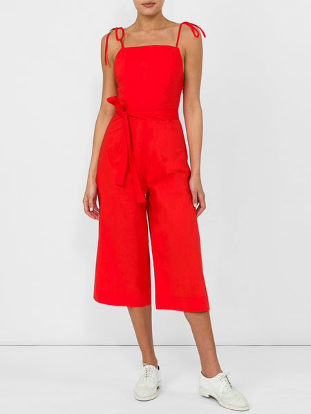 THE HIBISCUS JUMPSUIT - RED