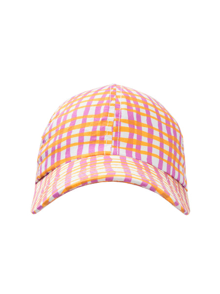 THE SOUTH POINTE HAT - WAVY STRIPE PINK
