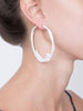 LHD X AURELIE BIDERMANN ARIANE EARRINGS - WHITE
