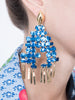 LHD X AURELIE BIDERMANN MARELLA EARRINGS - BLUE