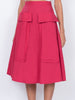 THE BARDOT SKIRT - RED